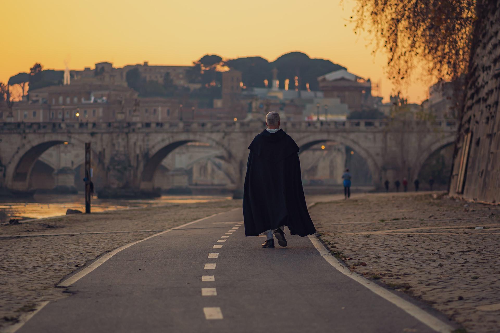 Roma: in bici da San Pietro a Ponte Milvio
