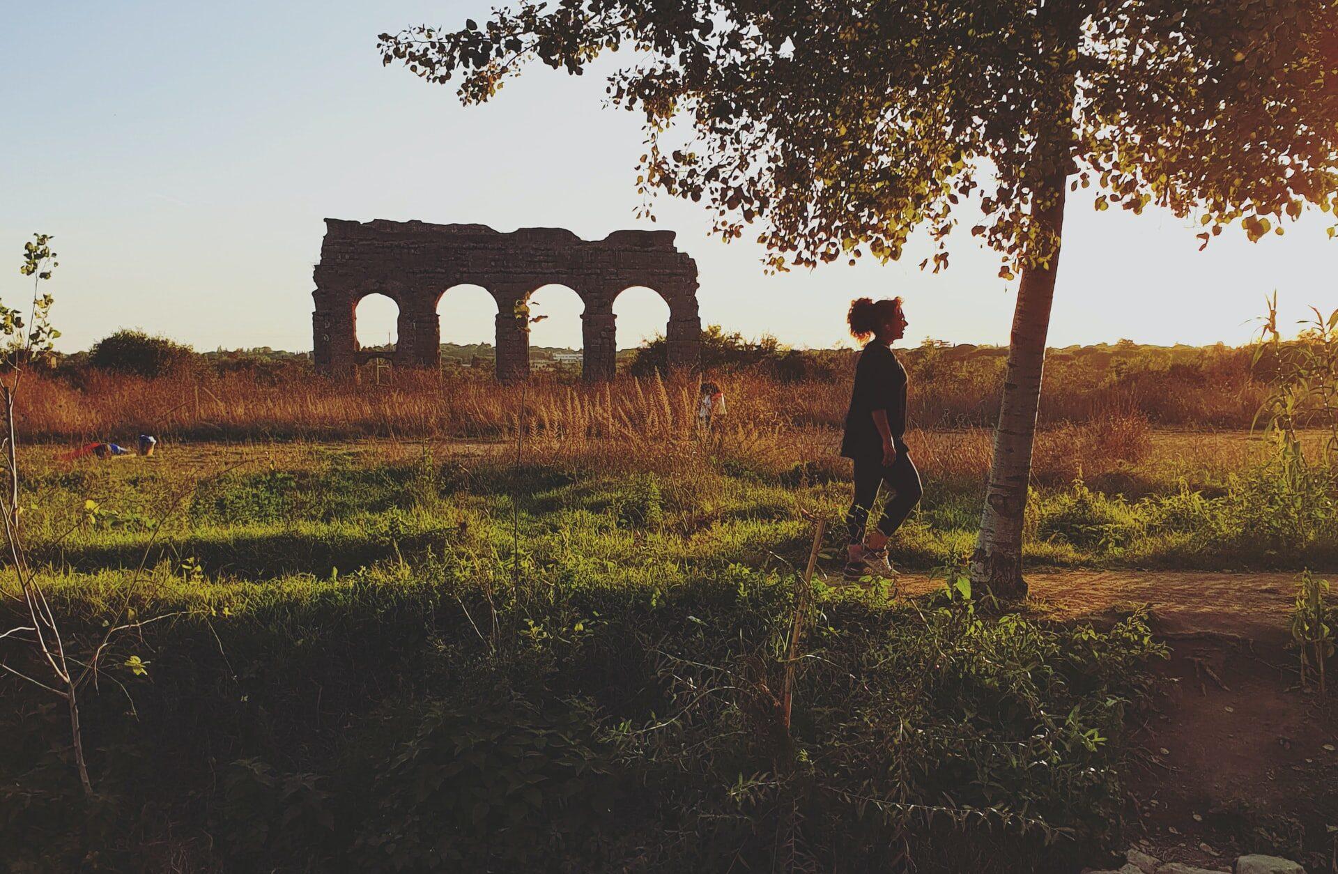 Andare in bicicletta nel Parco degli Acquedotti, Caffarella e Appia Antica