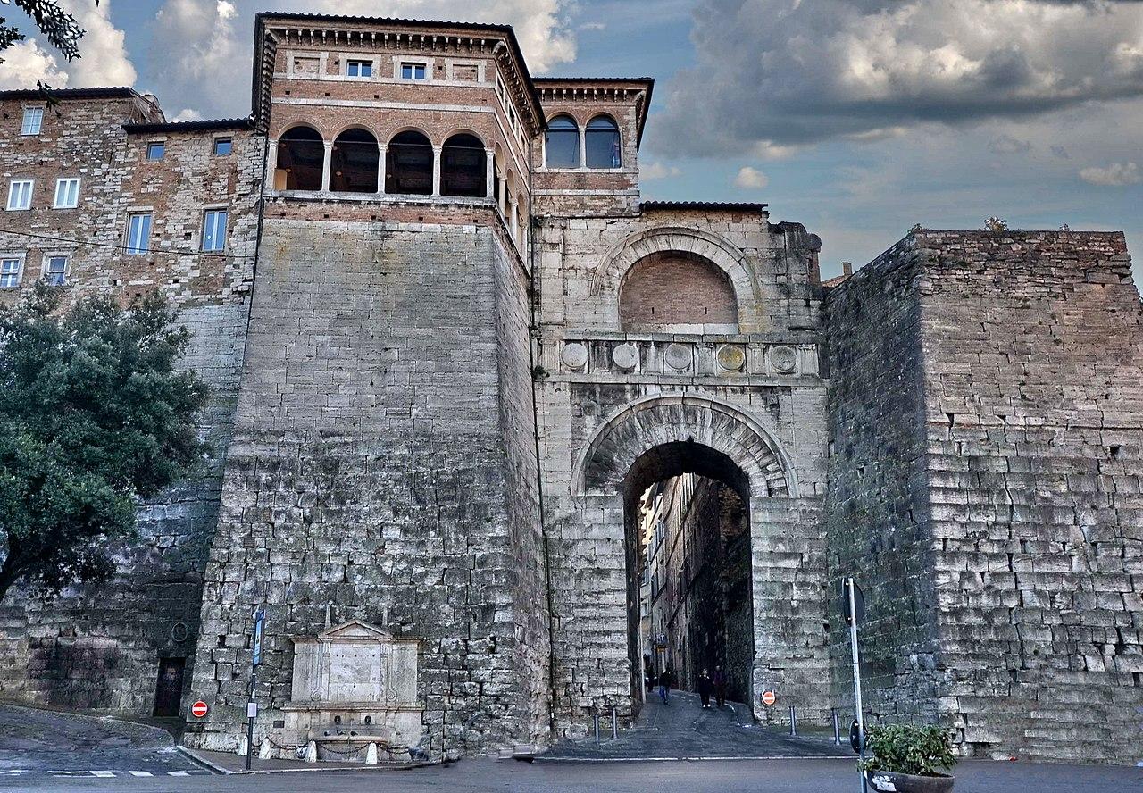 Arco etrusco perugia