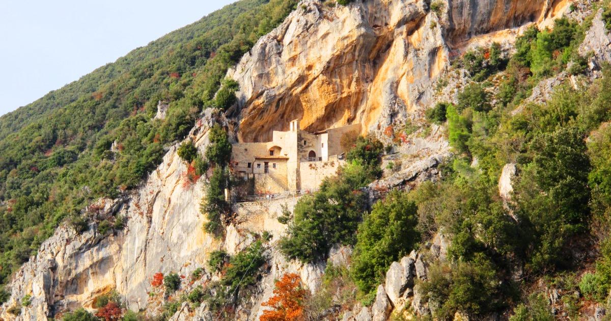 Eremo di Santa Maria Giacobbe di Pale Viaggiare in Umbria