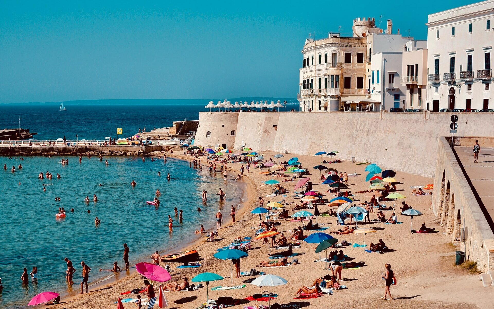 La spiaggia della Purità a Gallipoli