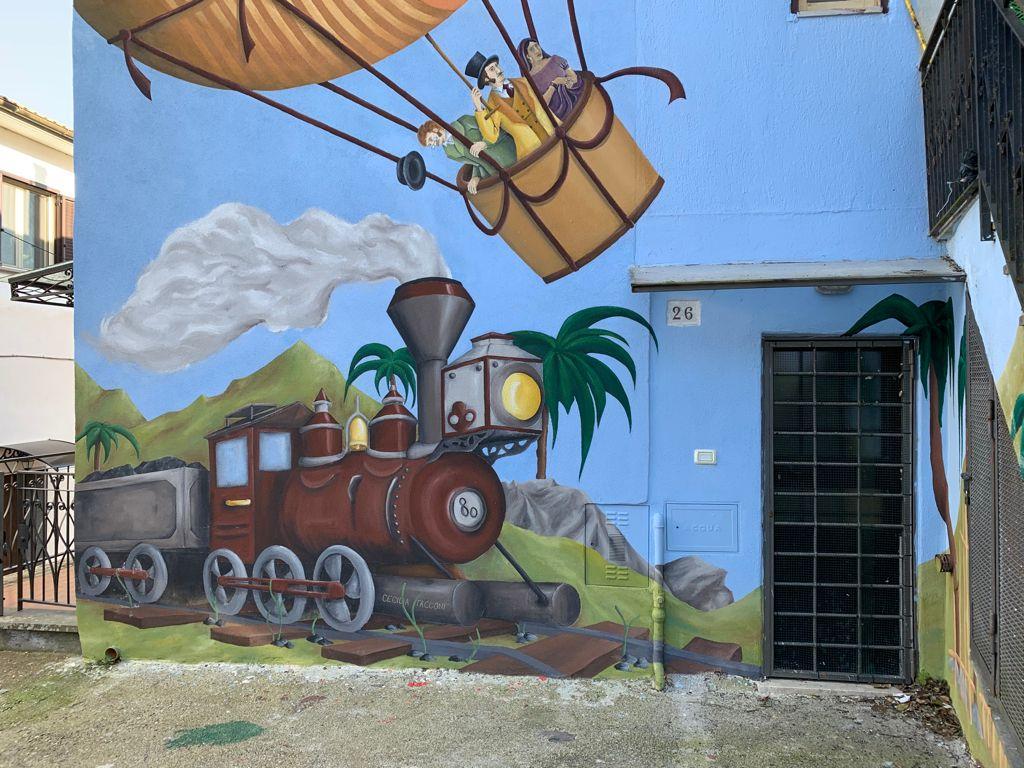 Murales a Sant'Angelo di Roccalvecce