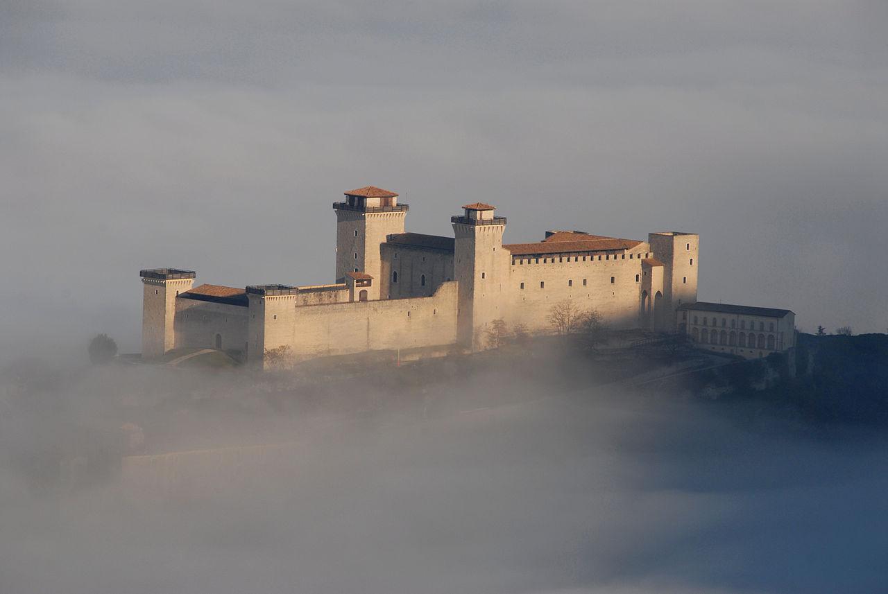 Rocca Albornoziana Perugia Umbria