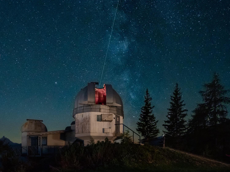 L'Osservatorio astronomico del Col Druscié