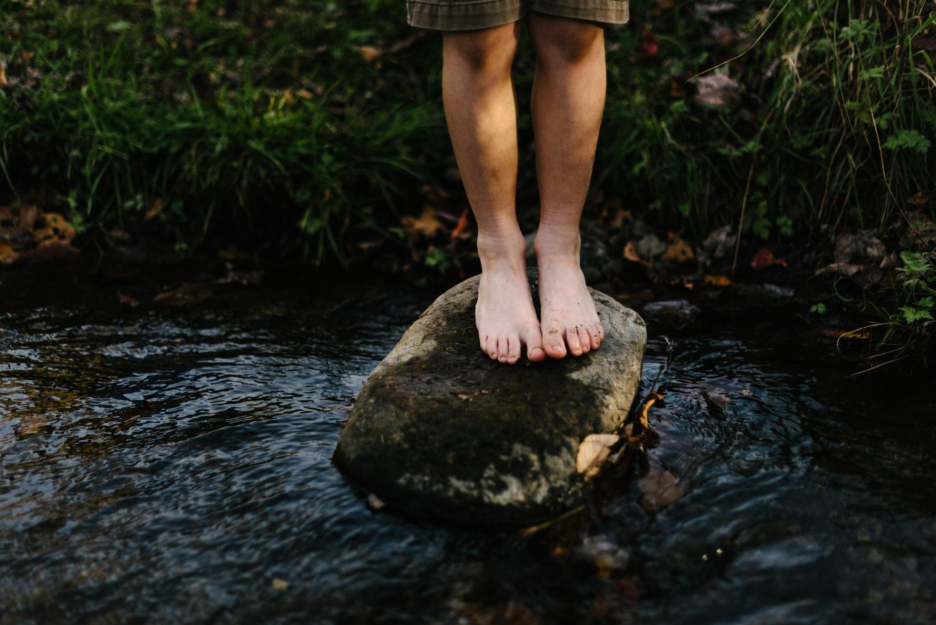 bagno di bosco trekking vicino roma lazio
